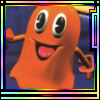 Pacman World Orange Ghost avatar