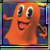 Pacman World Orange Ghost avatar