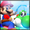 Super Mario and Yoshi avatar